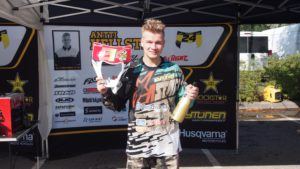 E2-luokan mestari Antti Hellsten.